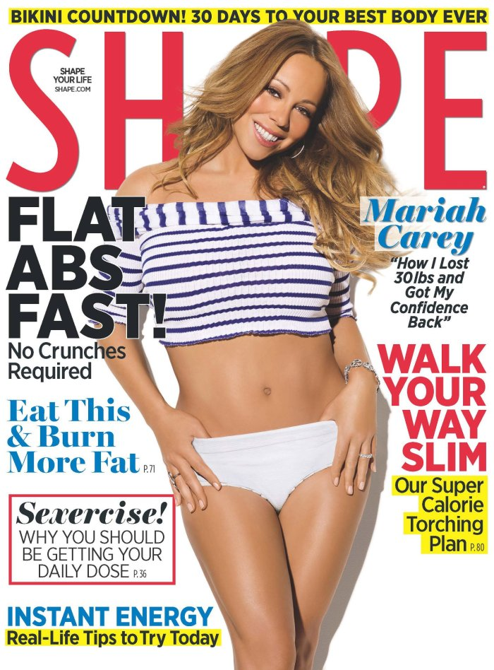 Shape, body, 2012, magazine, cover